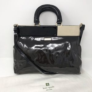 Kate Spade Landan Pastiche Patent Shoulder Bag